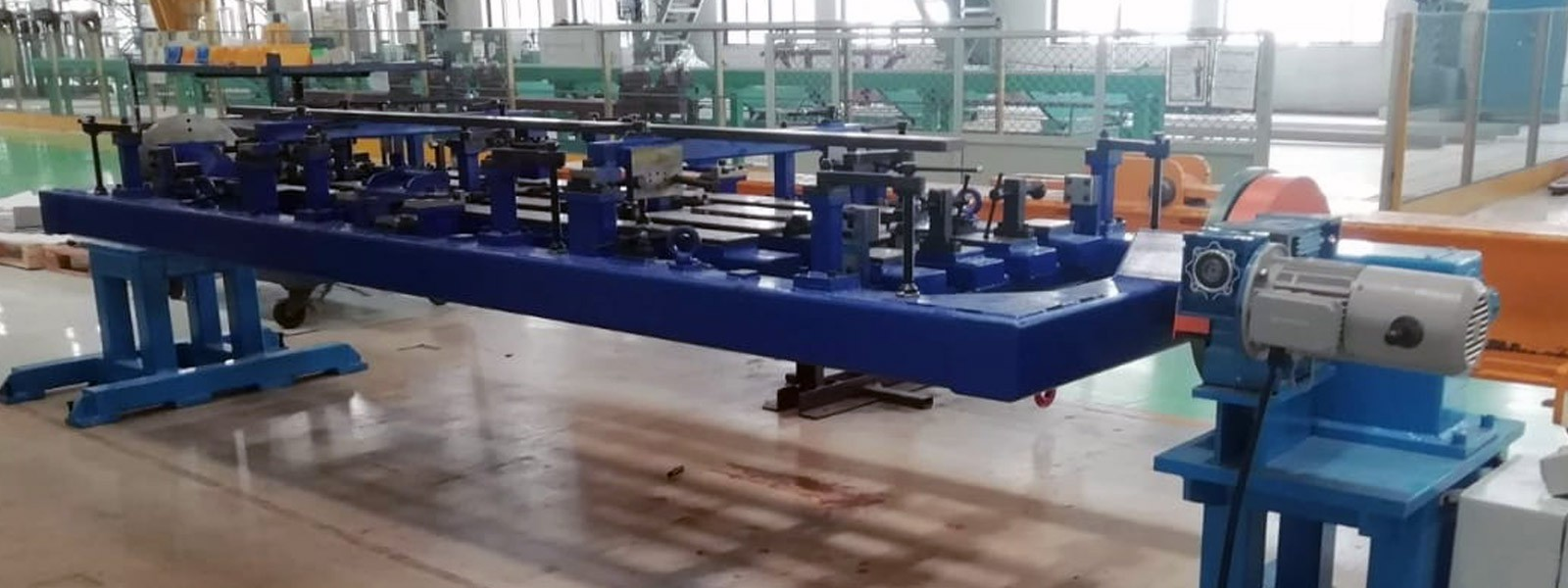 Motorized Material Transfer Trolley